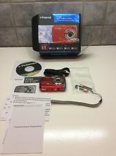 Polaroid iD516 12MP High Def Zoom Waterproof Digital Camera- Red