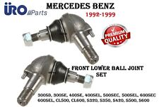 Front Suspension Left & Right Lower Ball Joint SET For Mercedes W140 Models NEW