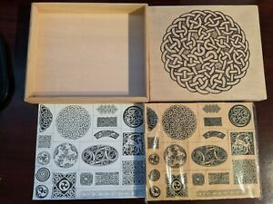 Artistic rubber stamps, never used