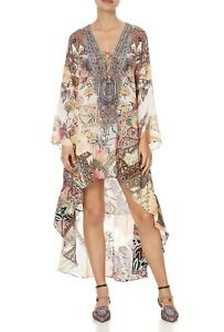CAMILLA Carnaby Disco Short Dress With High Low Hem RRP $799