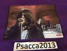 Supreme Black Sabbath Paranoid Tee Purple Large SS16 100% Authentic T Shirt
