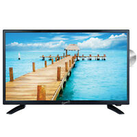 Supersonic 24-Inch 1080p LED Widescreen AC/DC HDTV w/ Built-in DVD Player