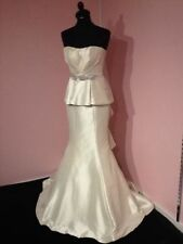 Taffeta Strapless Mermaid & Trumpet Wedding Dresses