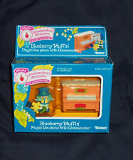 Strawberryland Miniatures Blueberry Muffin Playin' The Piano With Cheescake NIB