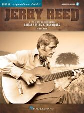 Jerry Reed Signature Licks - A Breakdown of His Guitar Styles and Tech 000118236