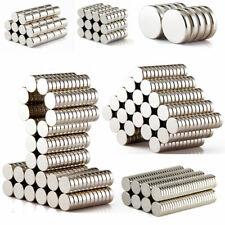 1-100Pcs N35/N50 Super Strong Round Neodymium Magnet Rare Earth Disc Fridge Lots
