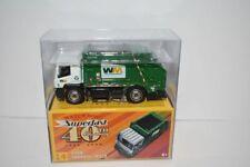 Matchbox Superfast 40th Anniversary #14 Garbage Truck Waste Management 2008 NIP