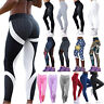 Damen Sport Yoga Gym Fitness Leggings Tights Jogginghose Leggins Trainingshose S