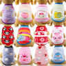 Cartoon Small Dog Clothes Pet Puppy Cute Vest Dog Cat Apparel 17 Color XXS-XXL