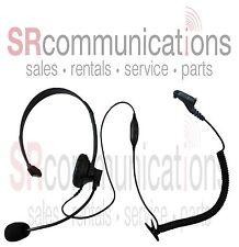 Single Ear Boom Mic HEADSET Motorola TRBO XPR XPR6300 XPR6350 XPR6500 XPR6550