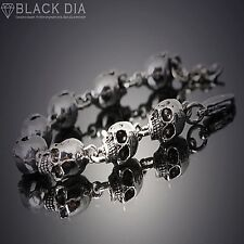 Guntwo Korean Mens Fashion Bracelets - Biker, Hip Hop Skull Bracelet B5244 US