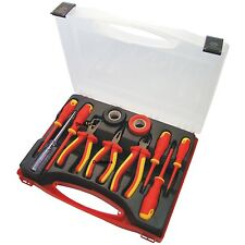 Am-Tech 11pc Electrical Electricans Tool Kit 1000V AC & 1500V DC