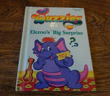 WUZZLES ELEROO'S BIG SURPRISE VINTAGE 1984 HARDBACK BOOK DISNEY