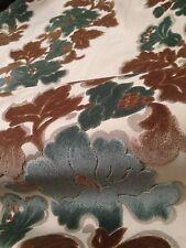 10 Metres Prestigious Flock Velvet Natural Canvas Heavy Upholstery Fabric