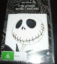 The Nightmare Before Christmas (Tim Burton's) (Australia Region 4) 2 DVD – New