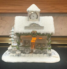 "SNOW ANGELS HOLIDAY VILLAGE ""ANGEL EXPRESS TRAIN STATION"" A2911"