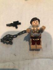 LEGO STAR WARS SLAVE PRINCESS LEIA MINIFIG figure minifigure