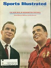 1966 Sports Illustrated REDSKINS Otto GRAHAM Jim BROWN Announces His Retirement