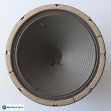 """vintage MOTOROLA Golden Voice 12"""" Alnico magnet woofer—USA-made by HEPPNER, 1968"""