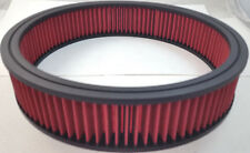 """14"""" x 3"""" 14x3 Washable Resuable High Flow Air Filter Element Chevy Ford Mopar V8"""