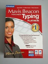 New Mavis Beacon Teaches Typing Platinum Sealed