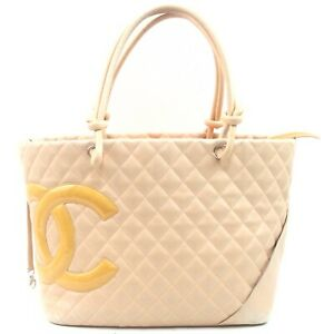 Chanel Tote Bag  Beiges PVC 840073