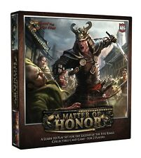 LEGEND OF THE FIVE RINGS (L5R) : A MATTER OF HONOR (L2P SET 2013) SEALED !