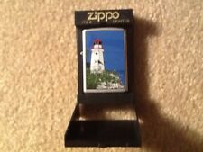 Zippo Lighthouse Lighter. Never Used.