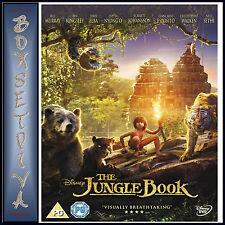 THE JUNGLE BOOK - DISNEY 2016 MOVIE *BRAND NEW DVD**
