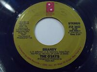 The O'Jays Brandy / Take Me To The Stars 45 1976 Philadelphia Vinyl Record