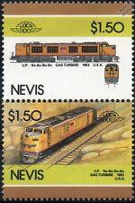 1953 Up gtel N ° 59 (gas turbine-electric Locomotora Tren Sellos / Loco 100