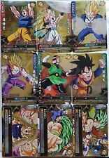 Carte Dragon Ball Z DBZ Data Carddass Dragon Battlers Part SP#PBL/PBL-D Full Set
