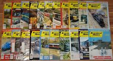 2000 2002 2003 Railroad Model Craftsman Magazine Lot Of 21 Different