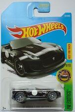 2017 Hot Wheels HW EXOTICS 9/10 '15 Jaguar E-Type Project 7 141/365 (Black)