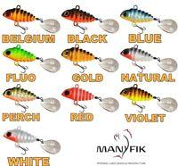 Spinning Tail Spinner Lure Jig PePe 5g-12g Pike Perch Bass Fishing Bait Manyfik