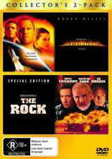 The Rock / Armageddon NEW DVD (Region 4 Australia)