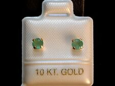 Smaragd Ohrstecker - 4 mm - 0,50 ct. - 10 Kt. Gold - 417 - Brillant Cut Ohrringe