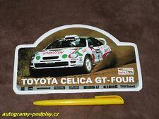 TOYOTA Celica GT-Four - Toyota/Castrol Sticker/Aufkleber