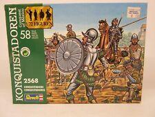Revell #2568, Konquistadoren Conquest Of Mexico, 1/72 Scale, Conquistadors