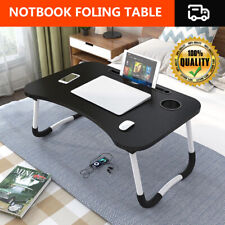Folding Laptop Bed Sofa Tray Table Portable Lap Desk Notebook Lapdesk Modern UK