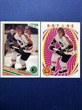 2013-14 OPC Hockey Base Legend And Retro #372 Bobby Clarke 2 Card Flyers Lot