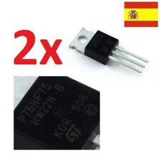 2x Transistor STP75NF75-potencia MOSFET P75NF75 TO-220 STM  103