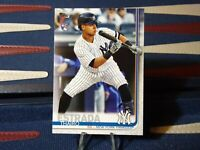 2019 Topps Update #US168 Thairo Estrada RC - New York Yankees Rookie