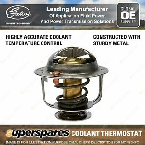 Gates Thermostat Coolant for Fiat X 1/9 128 128AS1 128AS 1.3L 1.5L