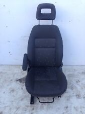 VW Sharan Seat Passenger / Left Side Front NSF MK2 2005 Armrest Damaged