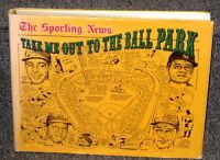TAKE ME OUT TO THE BALL PARK BY REIDENBAUGH W/ ILLUS BY AMADEE NY 1983 1ST ED DJ