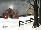 Art Print, Framed or Plaque by Billy Jacobs - A Light in the Stable - BJ1068A