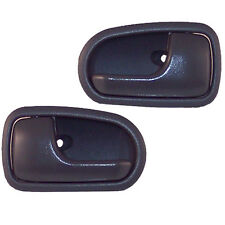 2 Inside Door Handles - Front or Rear Left or Right Driver or Passenger Gray