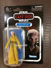 Star Wars The Vintage Collection 3.75 inch The Last Jedi Supreme Leader Snoke