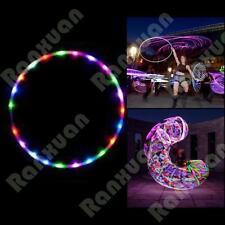 (10-24)lights Colorful lights Colorful 90CM light flash LED hula hoop fitness NE